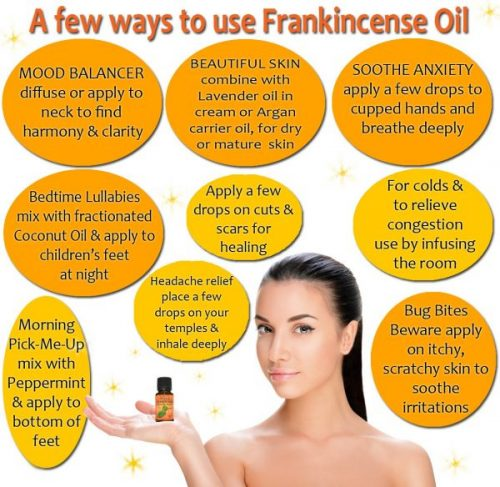 Frankincense Essential Oil Uses