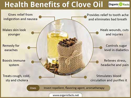 health benefits of clove essential oil